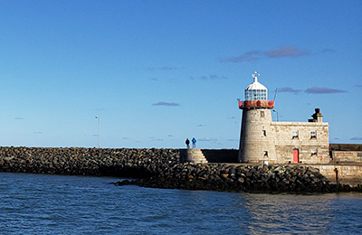 A lighthouse in Ireland